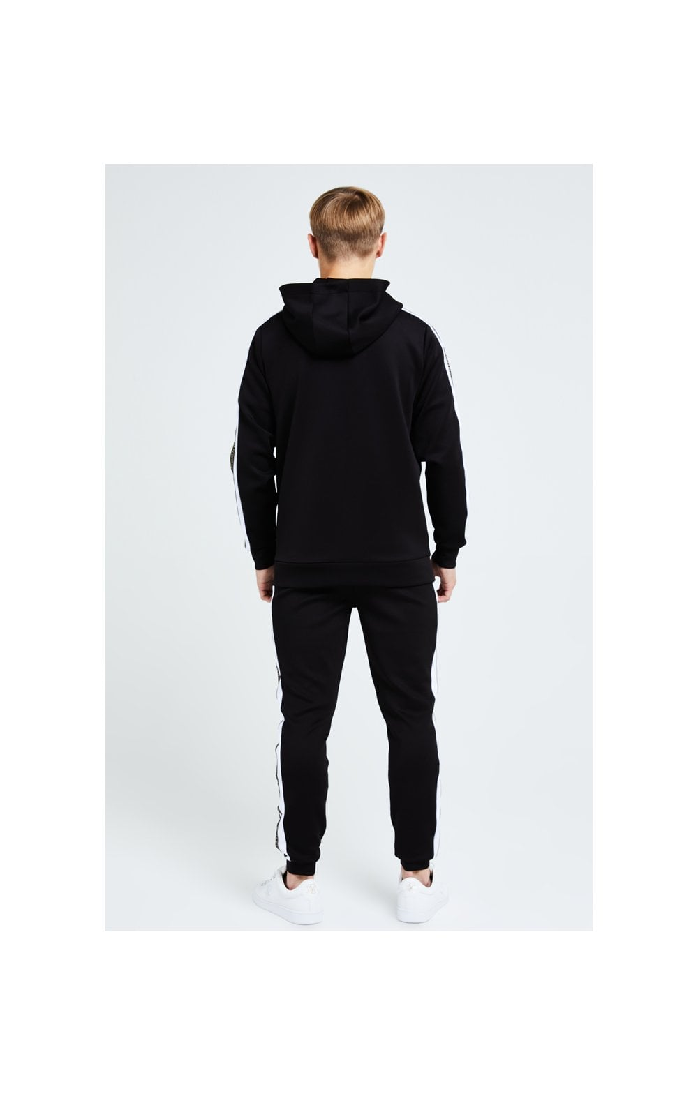 Illusive London Diverge Overhead Hoodie - Black Gold & White (5)