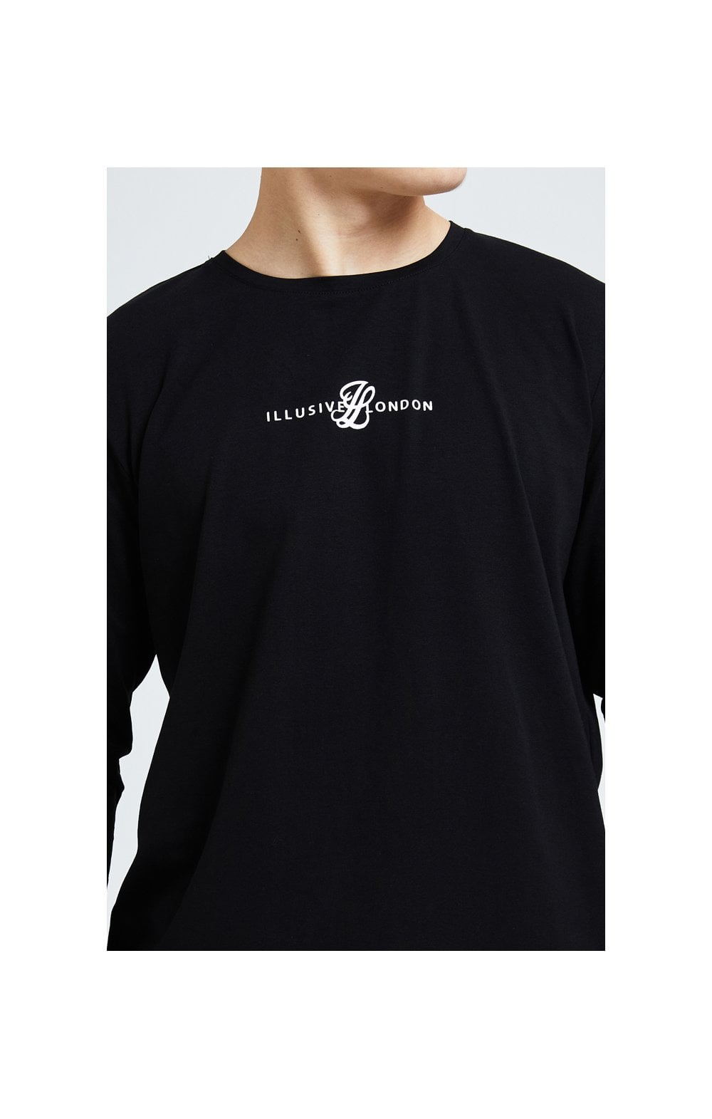 Illusive London Dual L/S Tee - Black