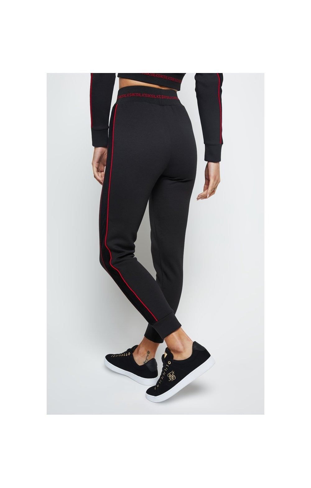 SikSilk Imperial Track Pants - Black (2)