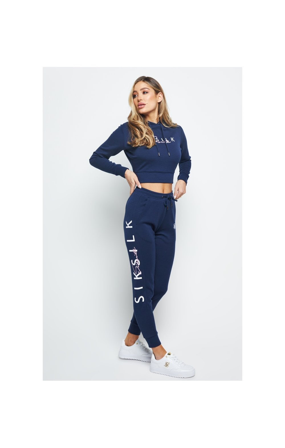 Charger l'image dans la galerie, SikSilk Colour Signature Track Pants - Blue
