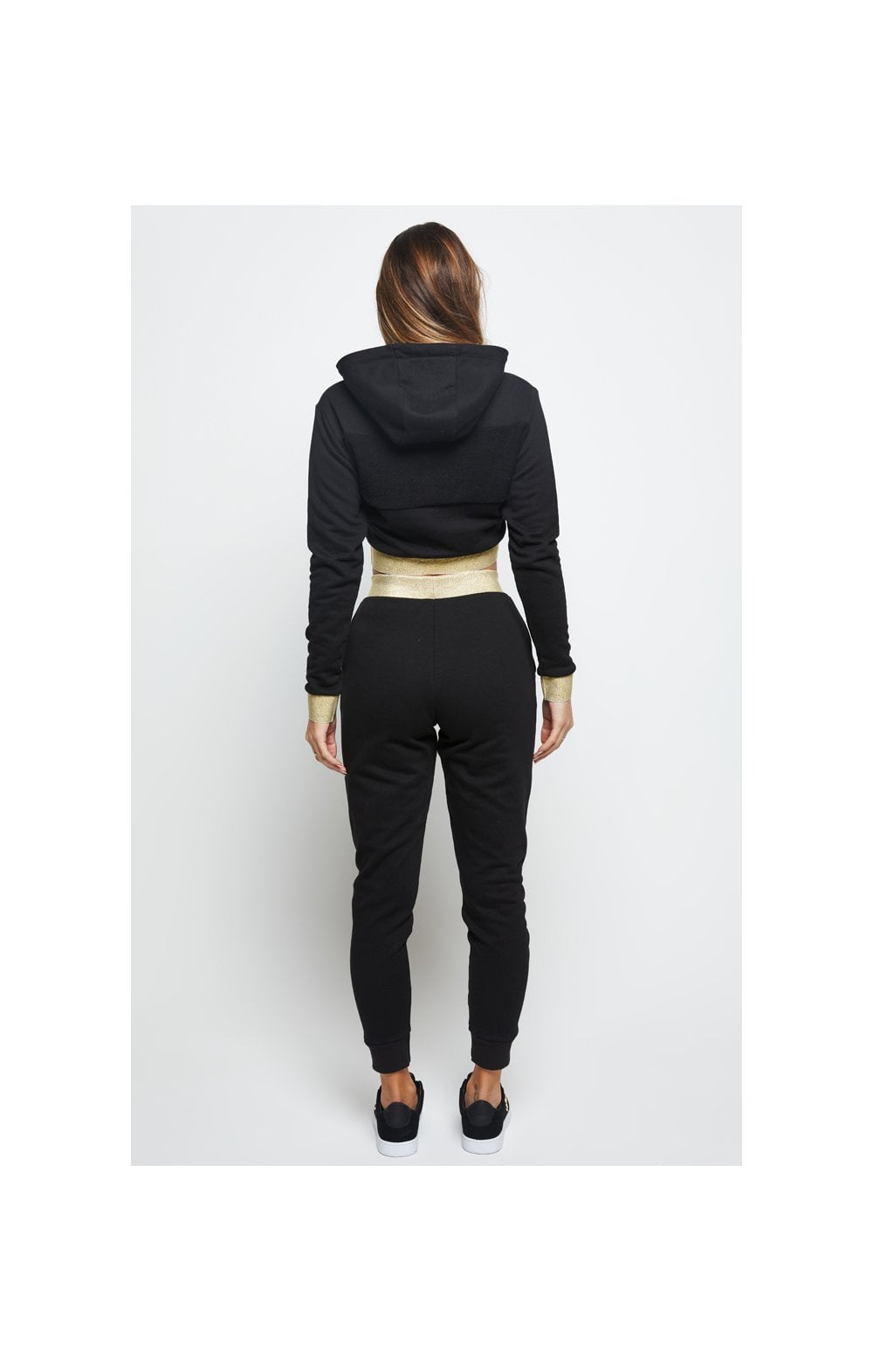 SikSilk Taped Jogger - Black (5)