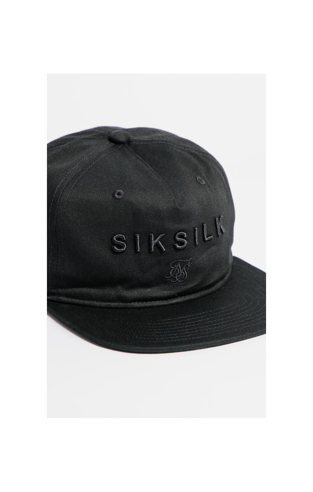SikSilk Cotton Snap Back - Black