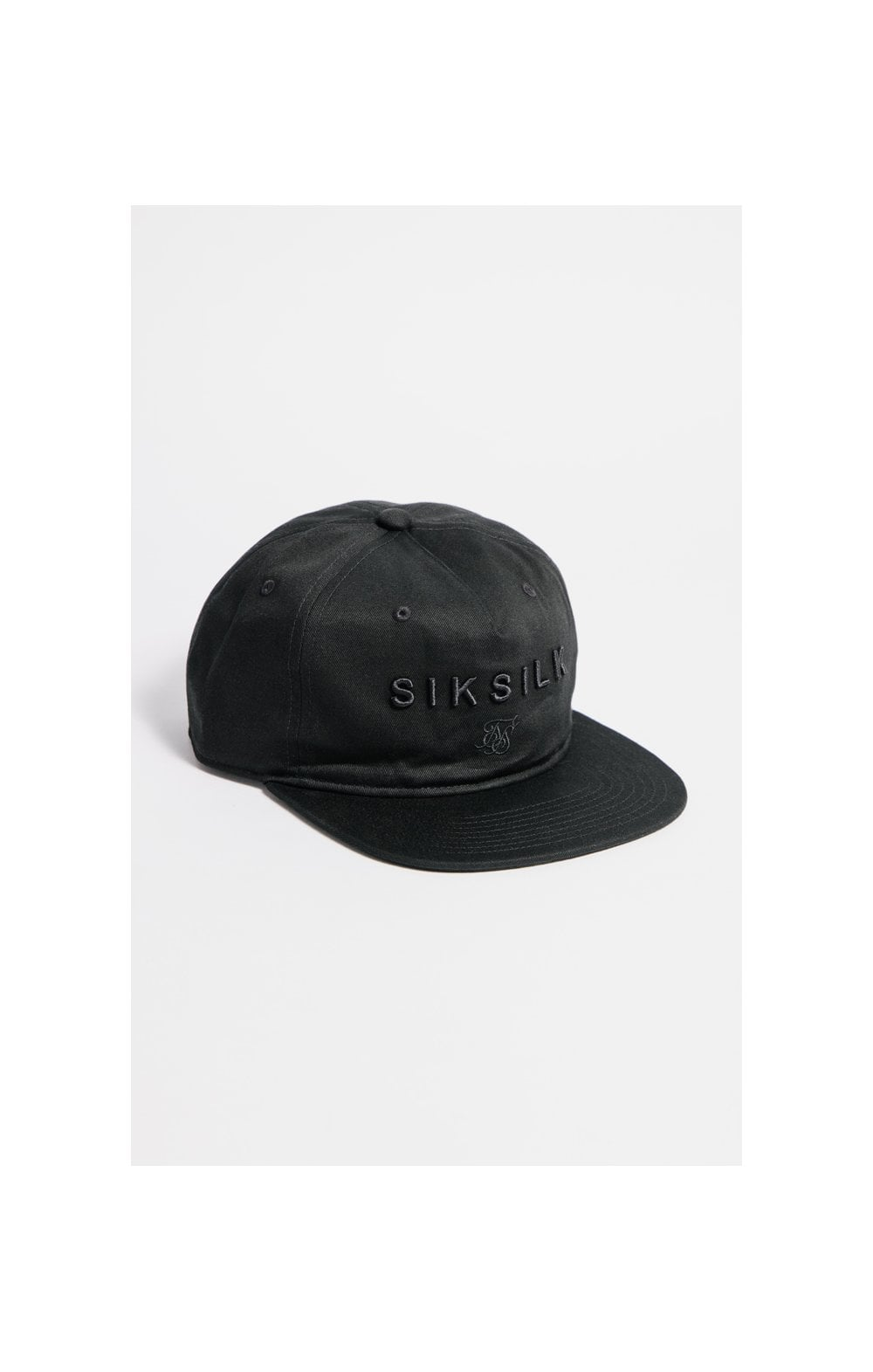SikSilk Cotton Snap Back - Black (1)