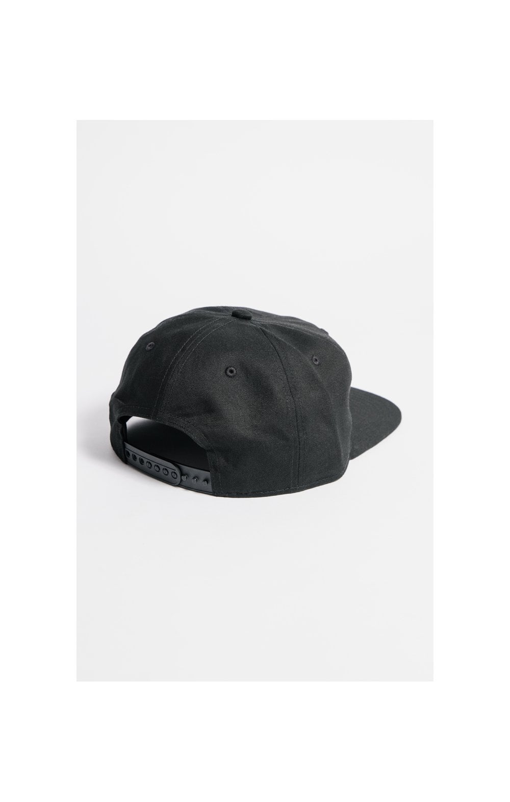 SikSilk Cotton Snap Back - Black (2)