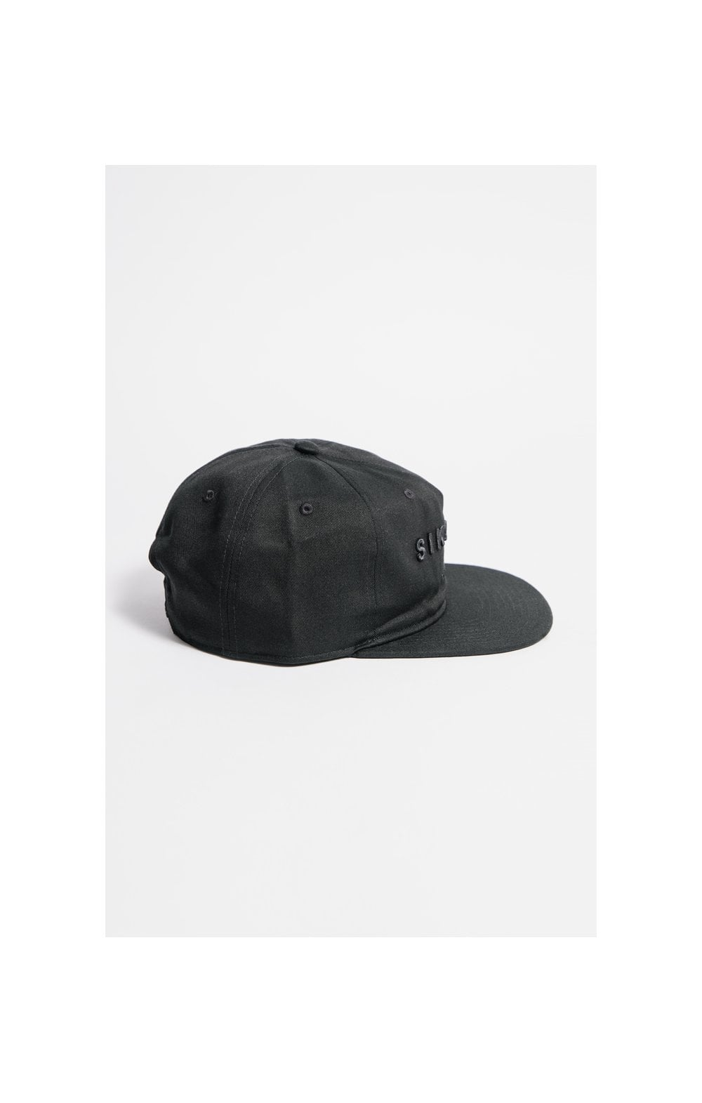 SikSilk Cotton Snap Back - Black (3)