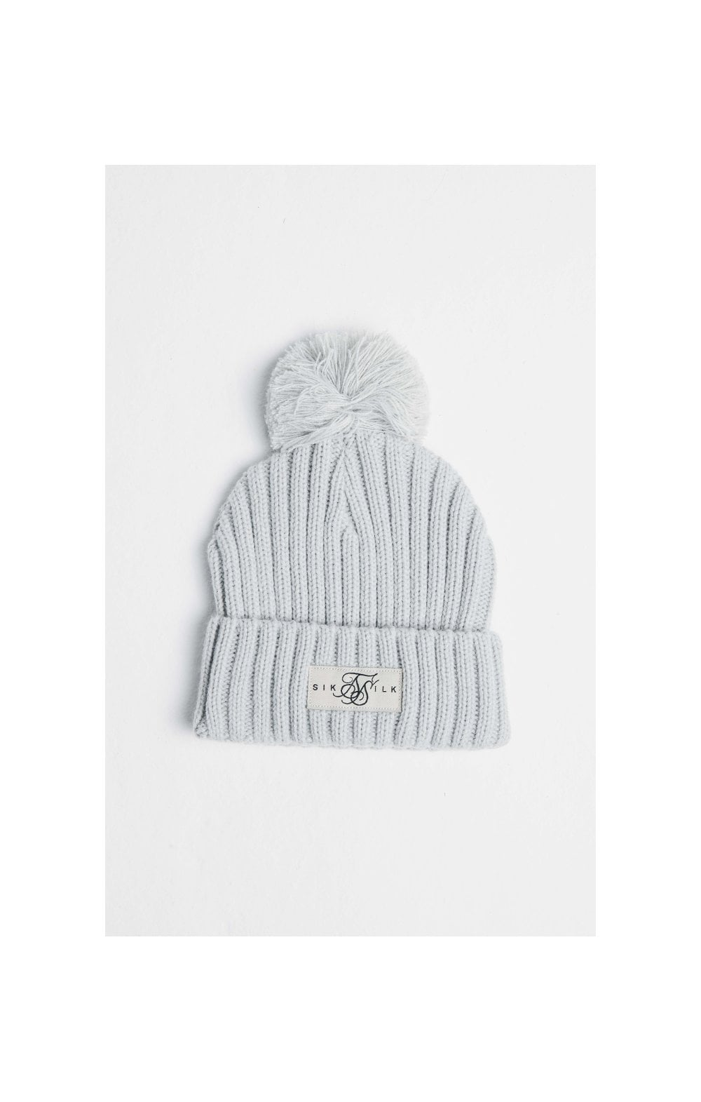 SikSilk Bobby Knit Beanie - Off White