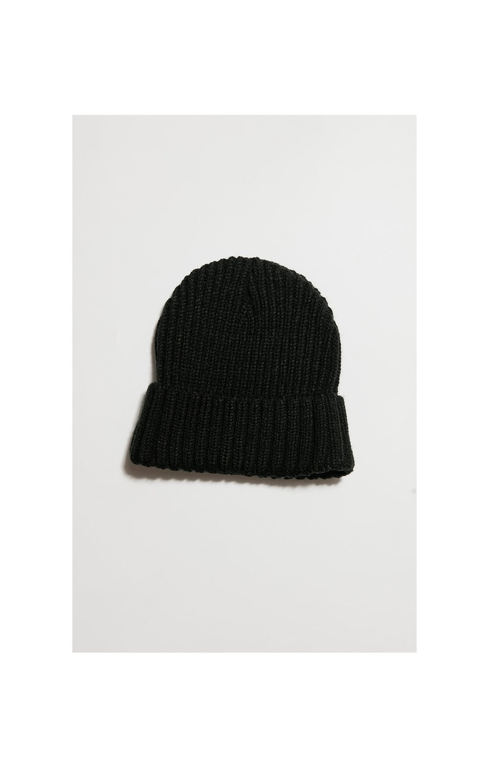 SikSilk Rib Cuff Beanie - Black & Gold (1)
