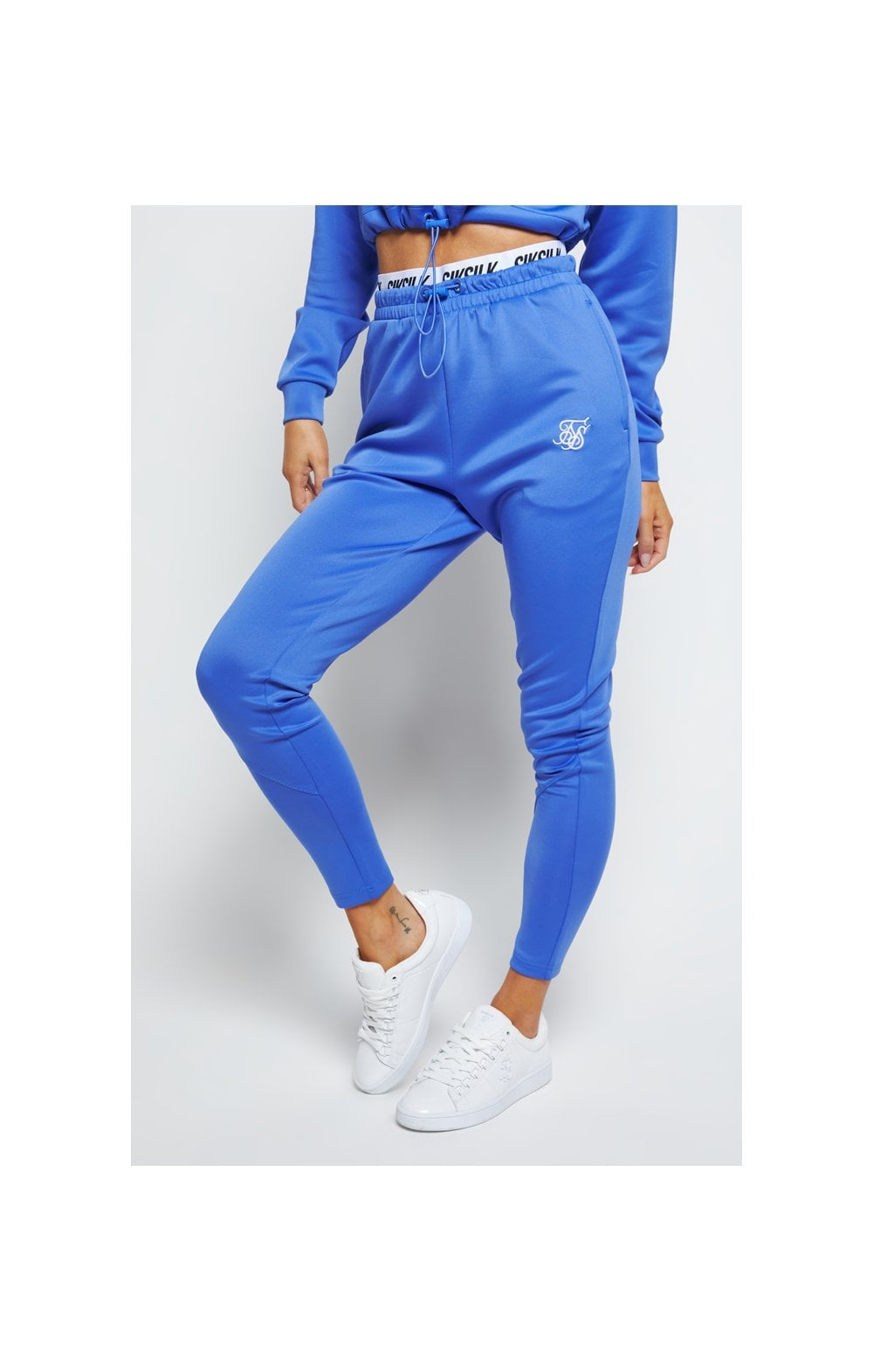 SikSilk Velocity Track Pants - Blue