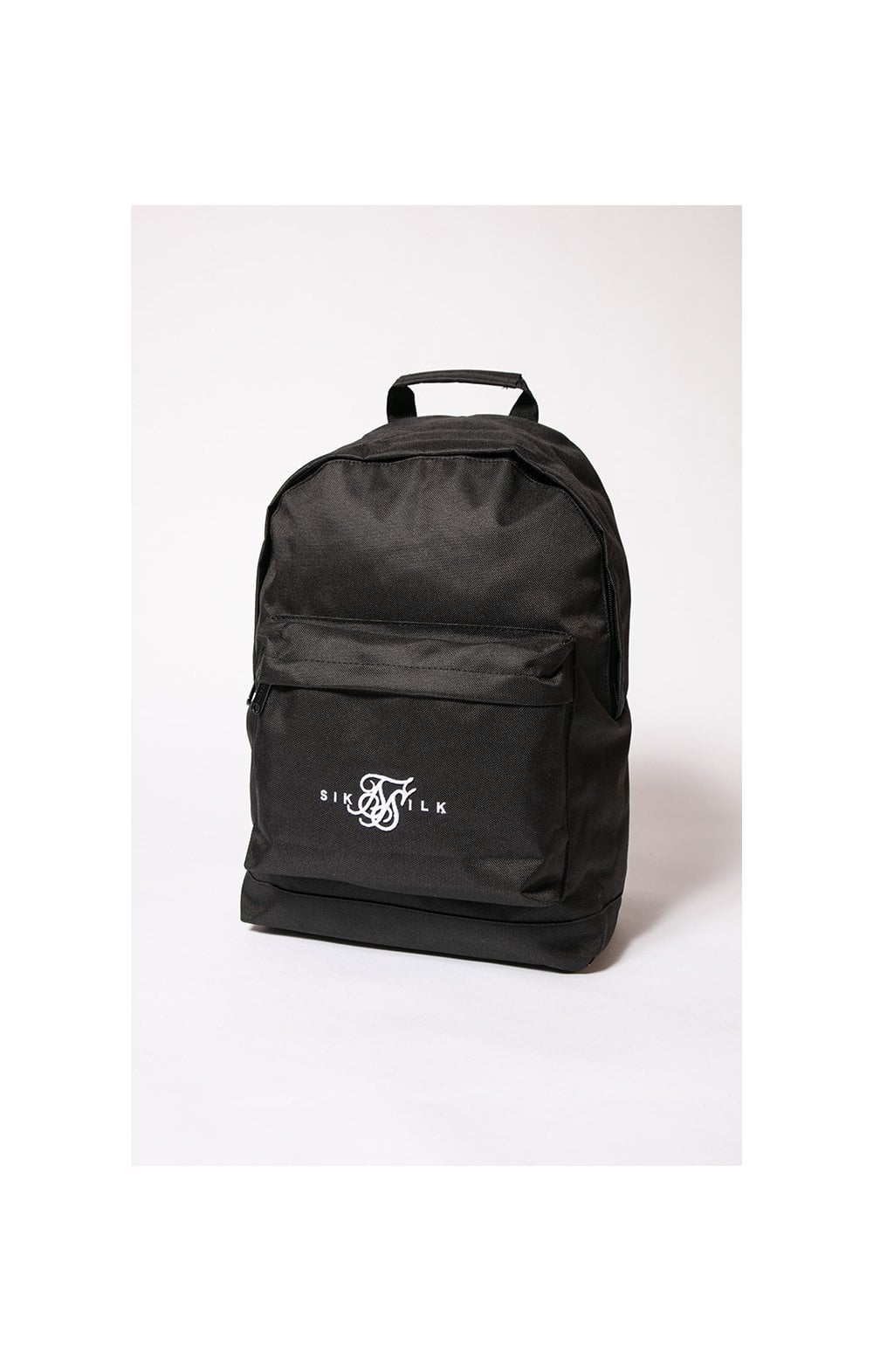 SikSilk Dual Logo Backpack – Black & White