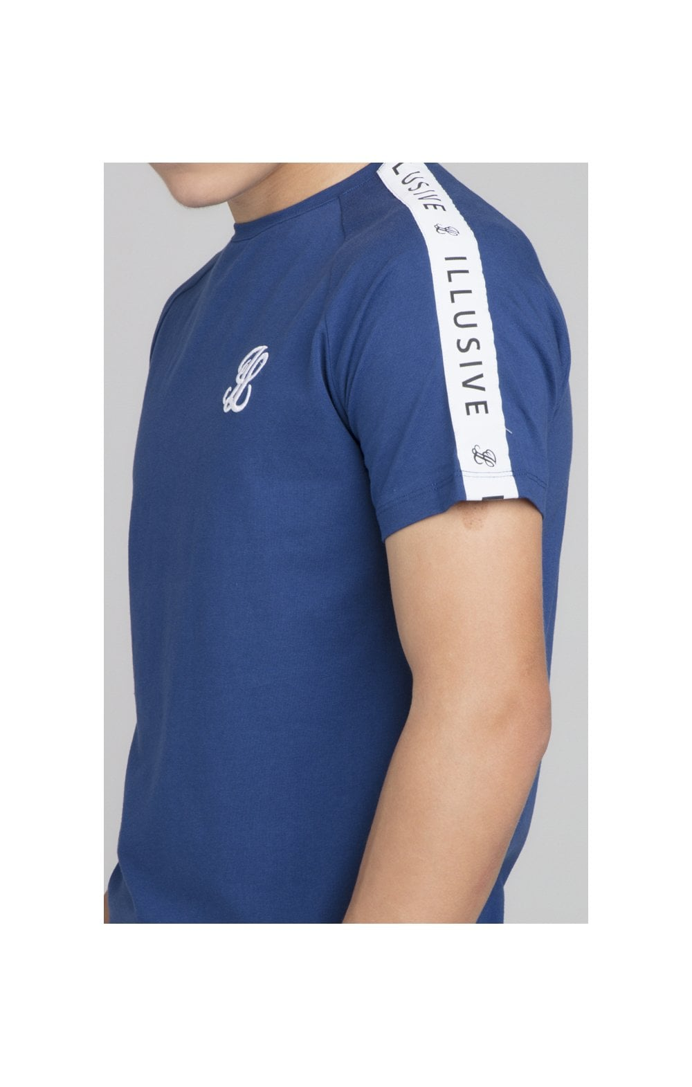 Illusive London Taped Core Tee - Royal Blue (1)