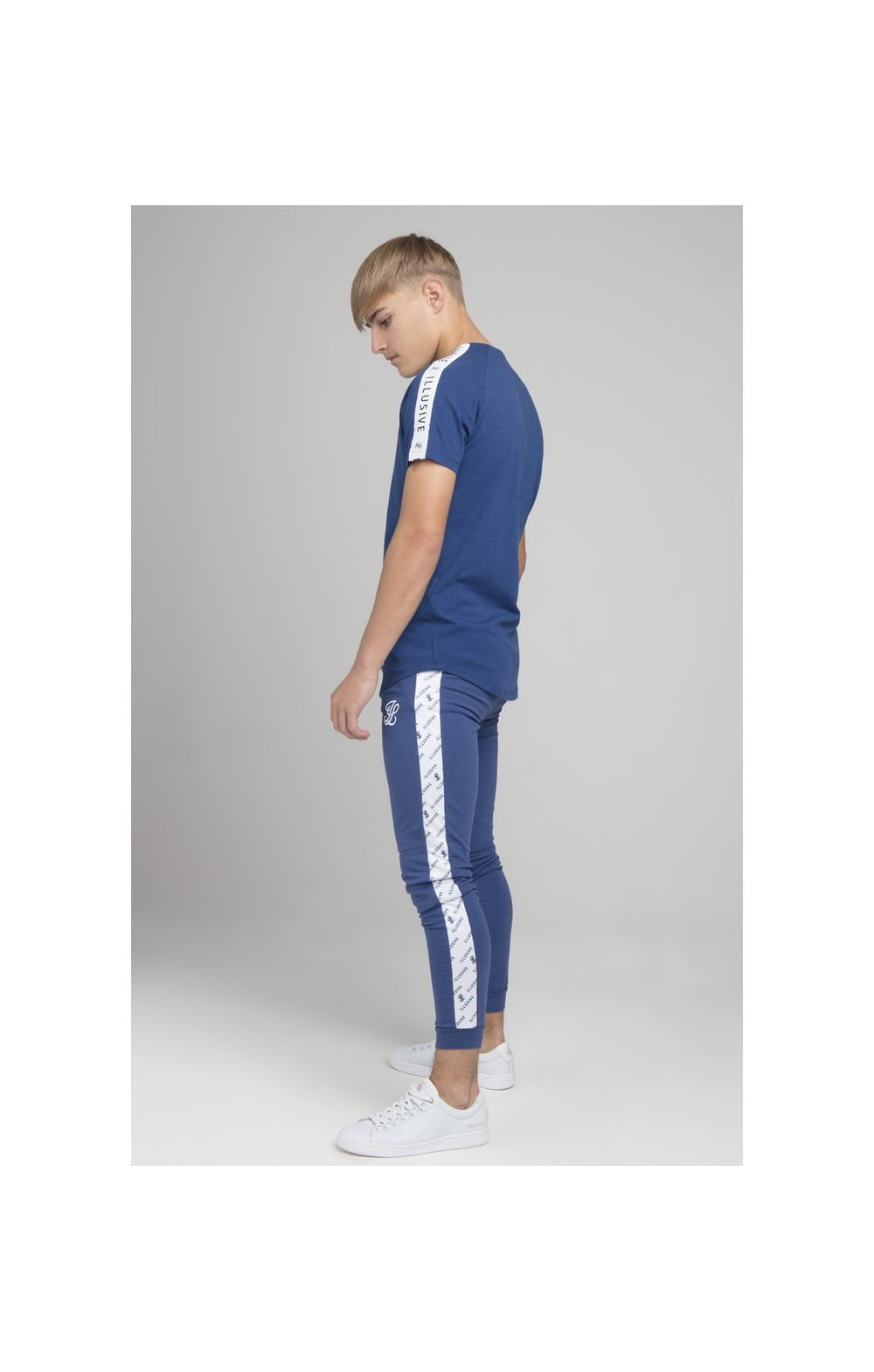Illusive London Taped Core Tee - Royal Blue (4)