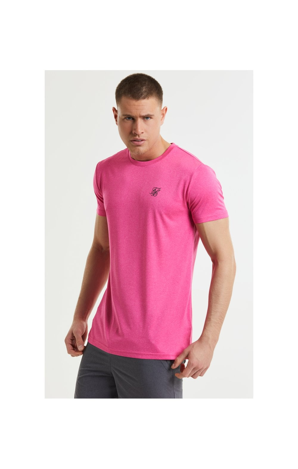 SikSilk Core Poly Tee - Pink