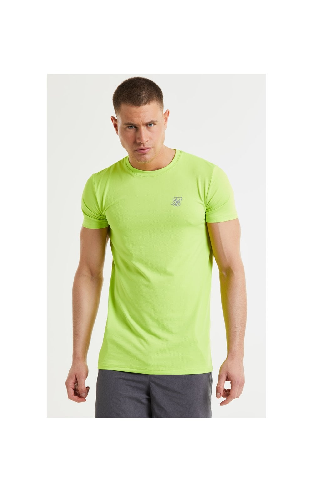 SikSilk Core Poly Tee - Yellow (1)