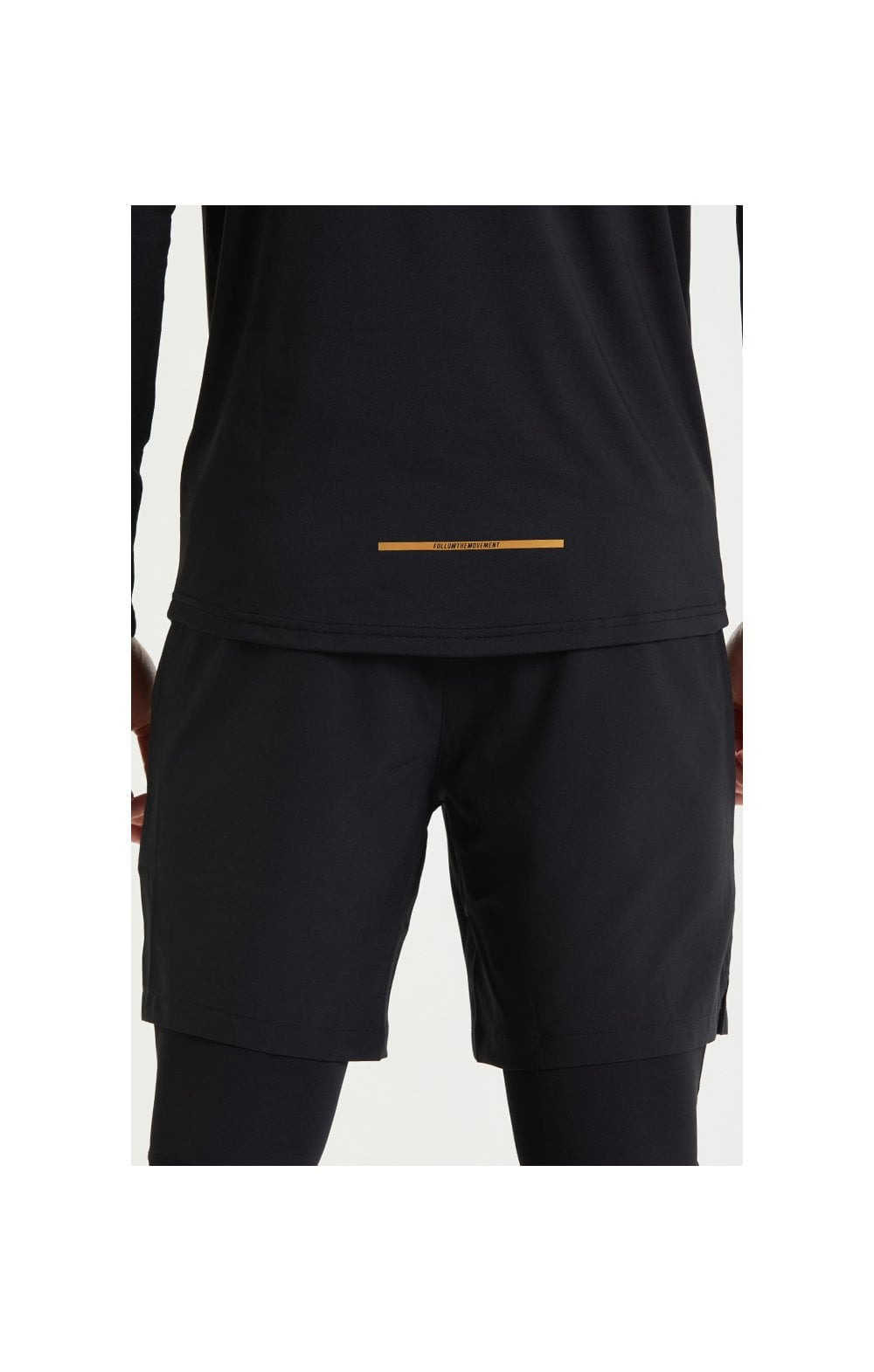 SikSilk Pressure Zip Funnel Neck - Black (3)