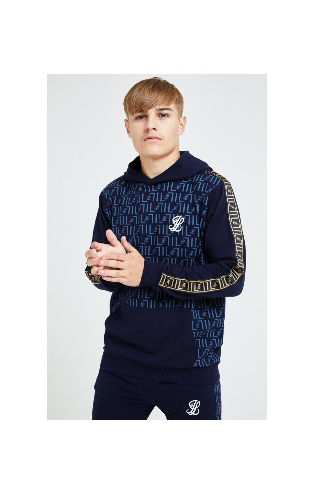 Illusive London Elite Overhead Hoodie - Navy