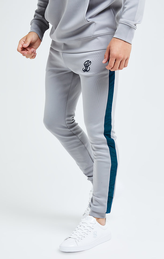 Illusive London Hybrid Joggers - Grey & Blue