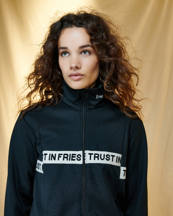 In Fries We Trust Rib Tina Bomber