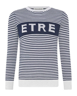 Etre Stripe Boyfriend Knit