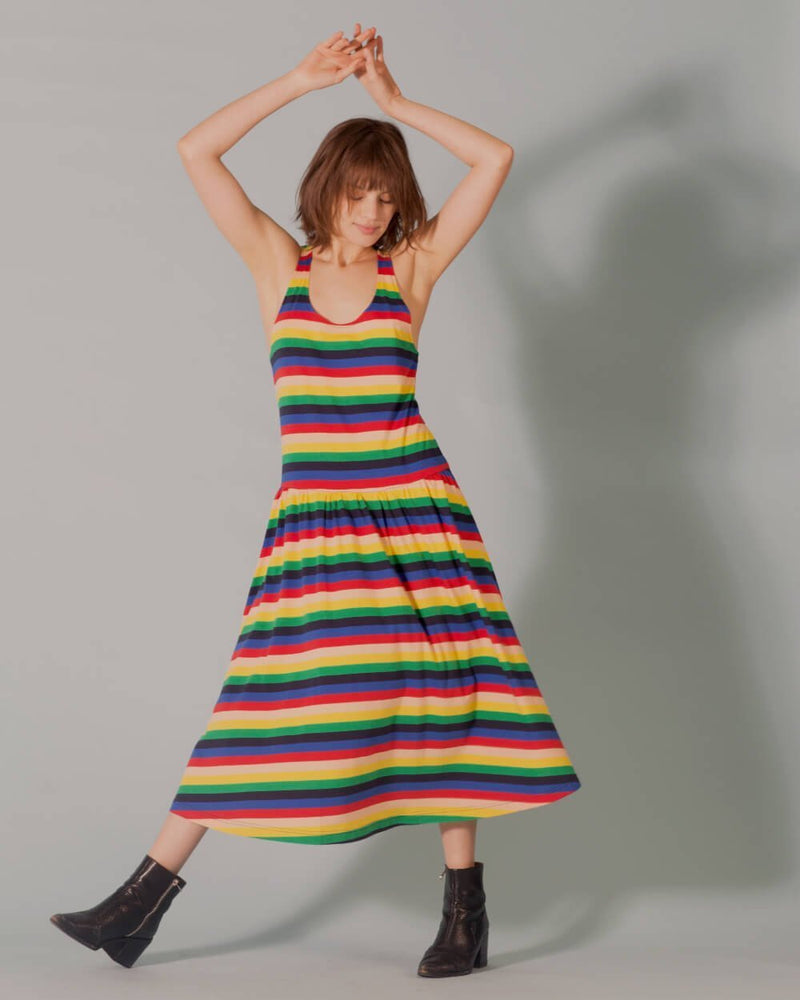 Ec Rainbow Luna Dress