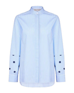 Dots All Over And Stripe Romy Shirt