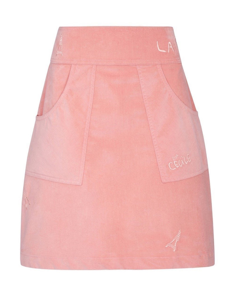 Eiffel Tower Baby Cord Victoire Skirt