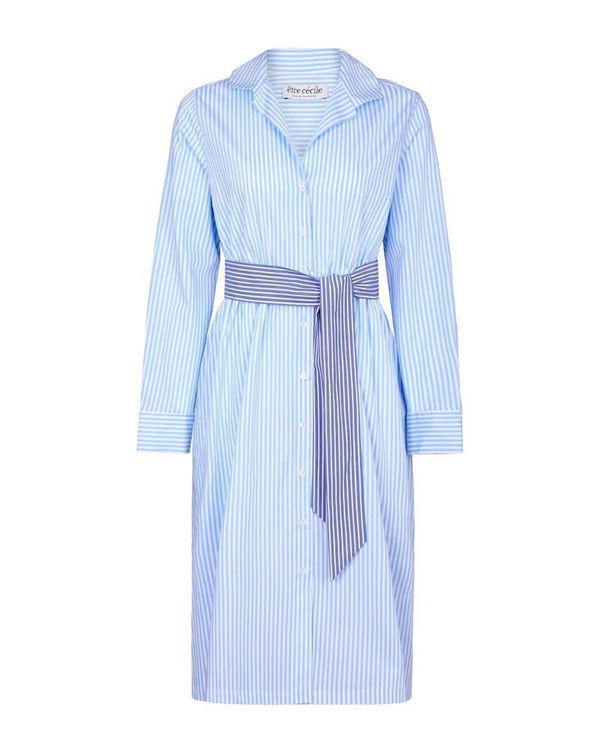 Stripe Lauren Shirt Dress