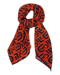 Cecile All Over Silk Scarf