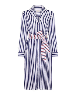 Dots Stripe Lauren Shirt Dress