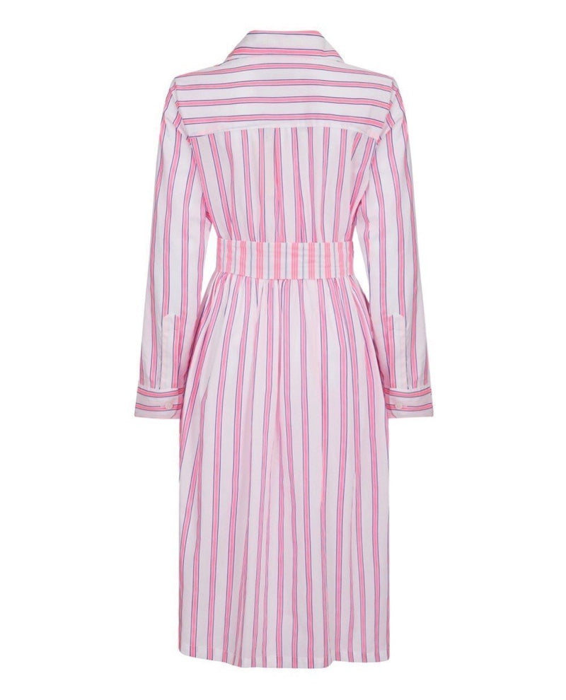 Fluro Stripe Lauren Shirt Dress