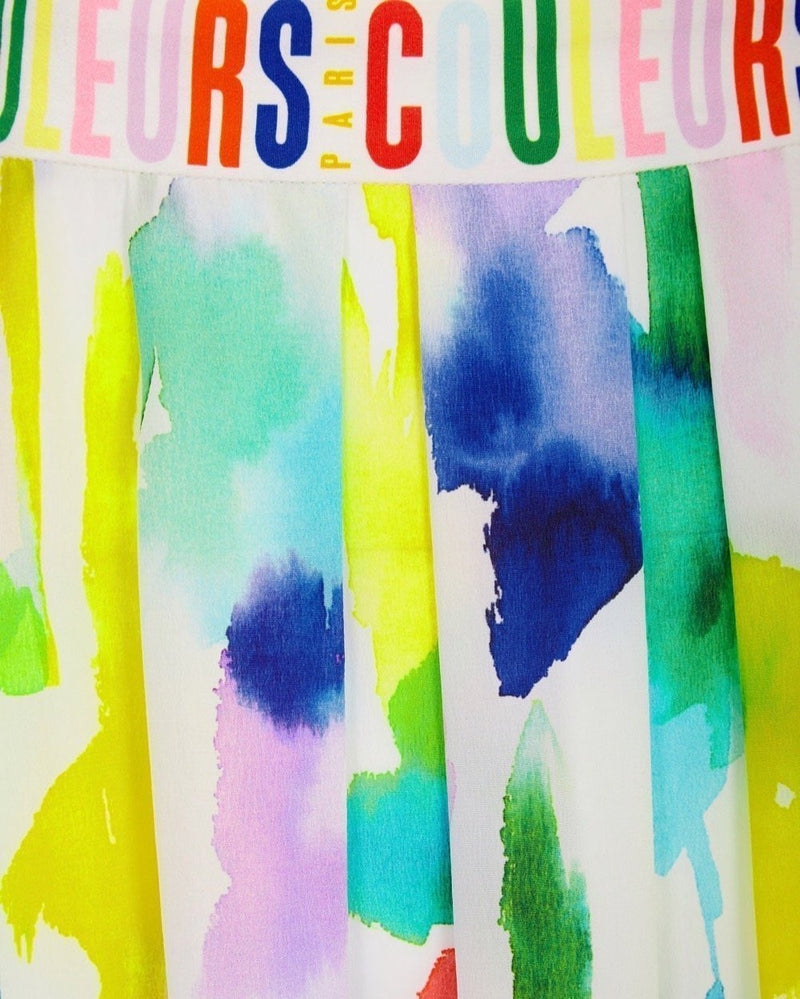 Paint Print Emme Skirt