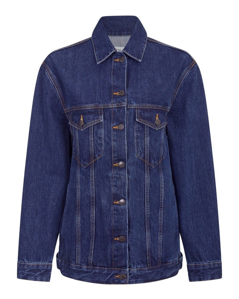 With Love From Paris Denim Oversize Jacket