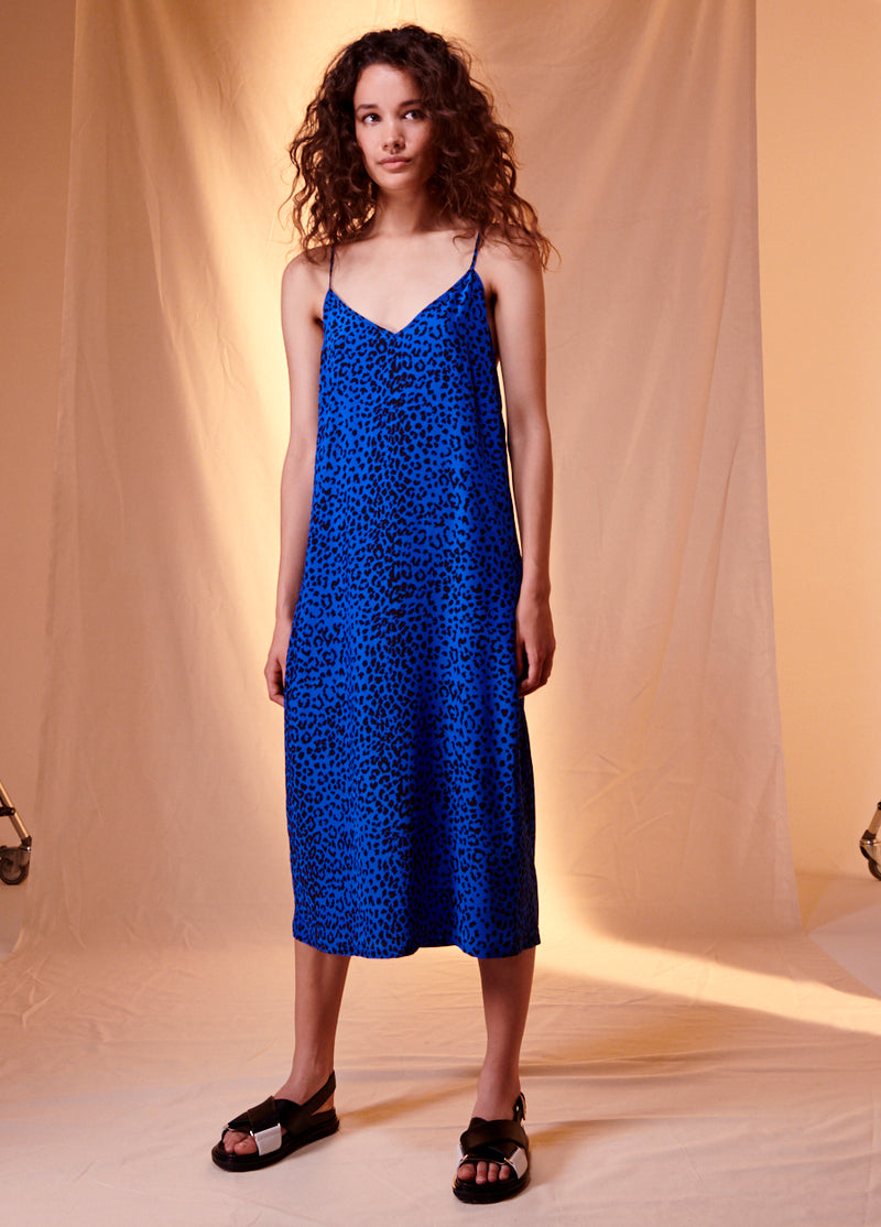 Animal Print Nigella Slip Dress