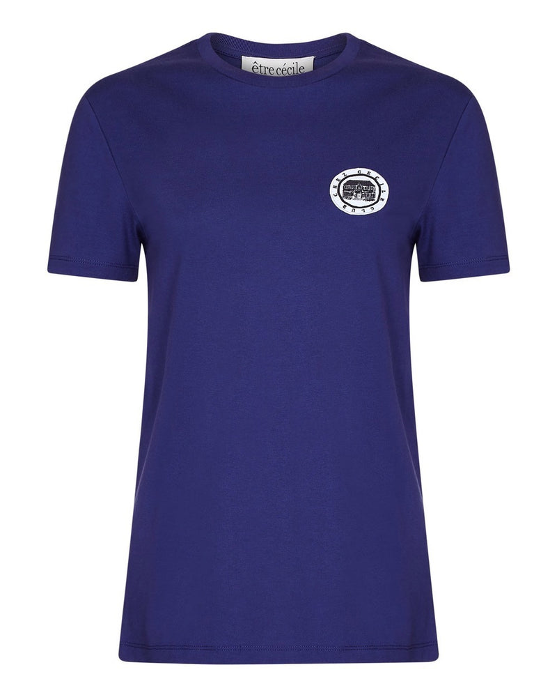 Colour Chez Cecile Club Badge T-shirt