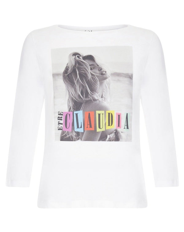 Claudia Schiffer Fan Bardot T-shirt