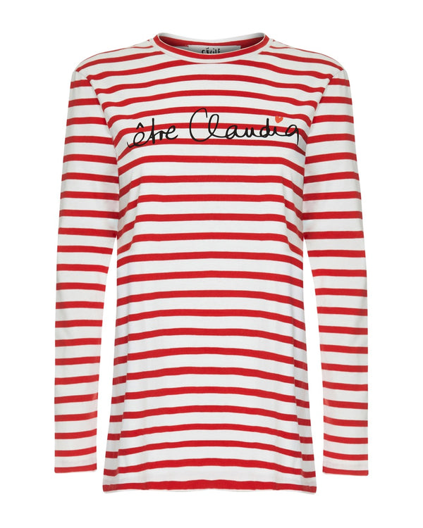 Claudia Schiffer Etre Claudia Long Sleeve T-shirt
