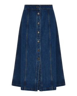 Ec Celeste Denim Skirt