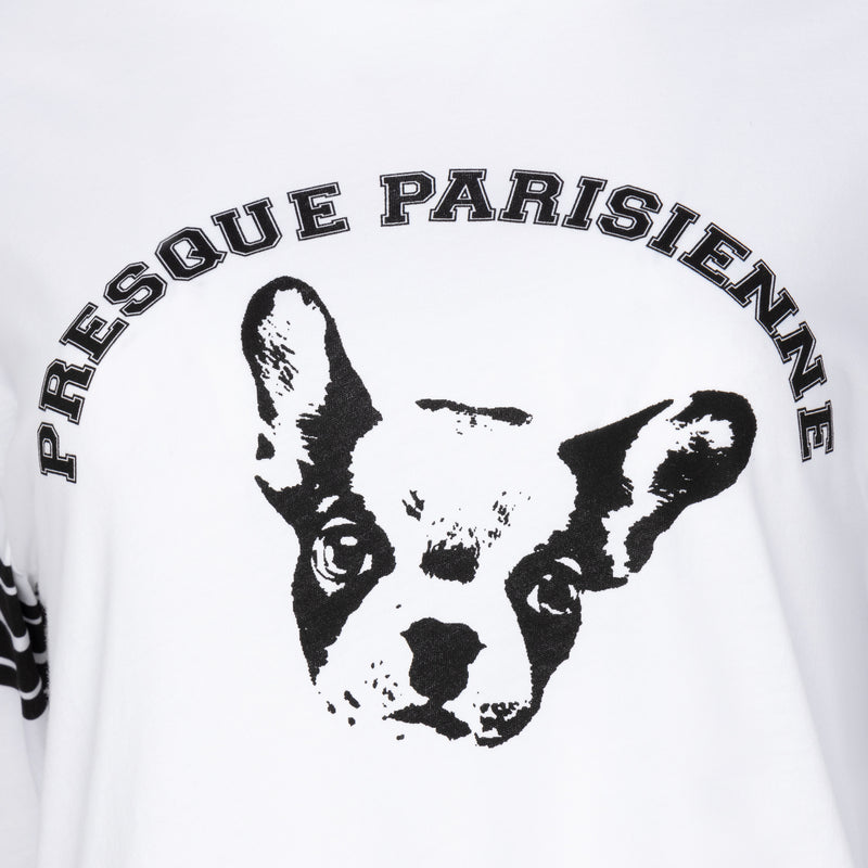 Presque Parisienne Dog Long Sleeve T-shirt
