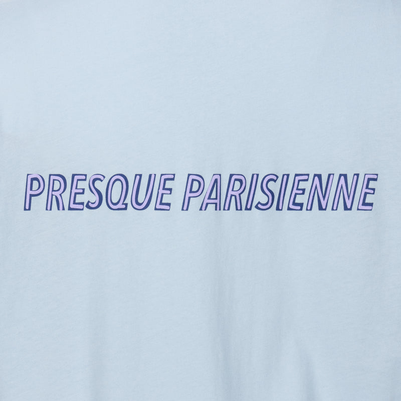 Presque Parisienne Badge Oversize T-shirt