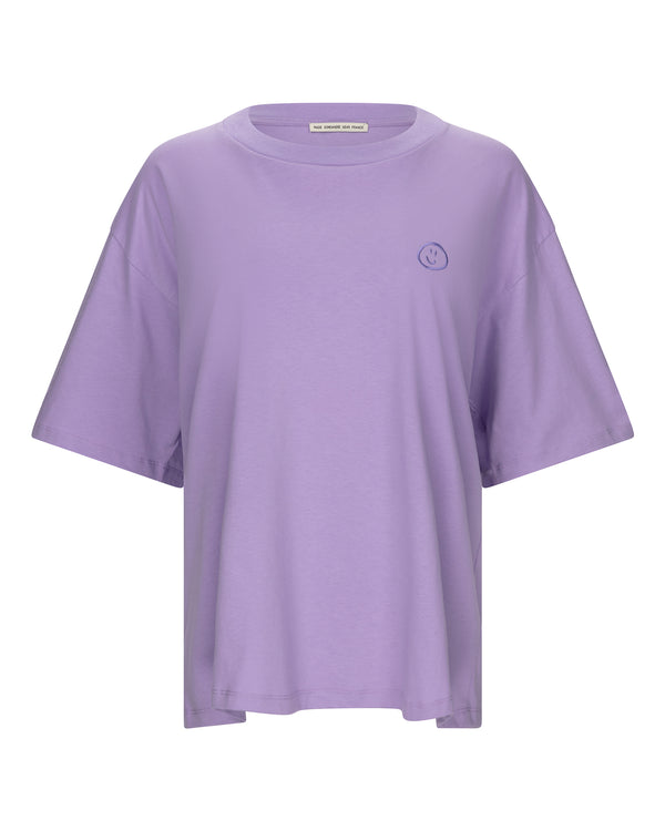 Smiley Drop Sleeve T-shirt