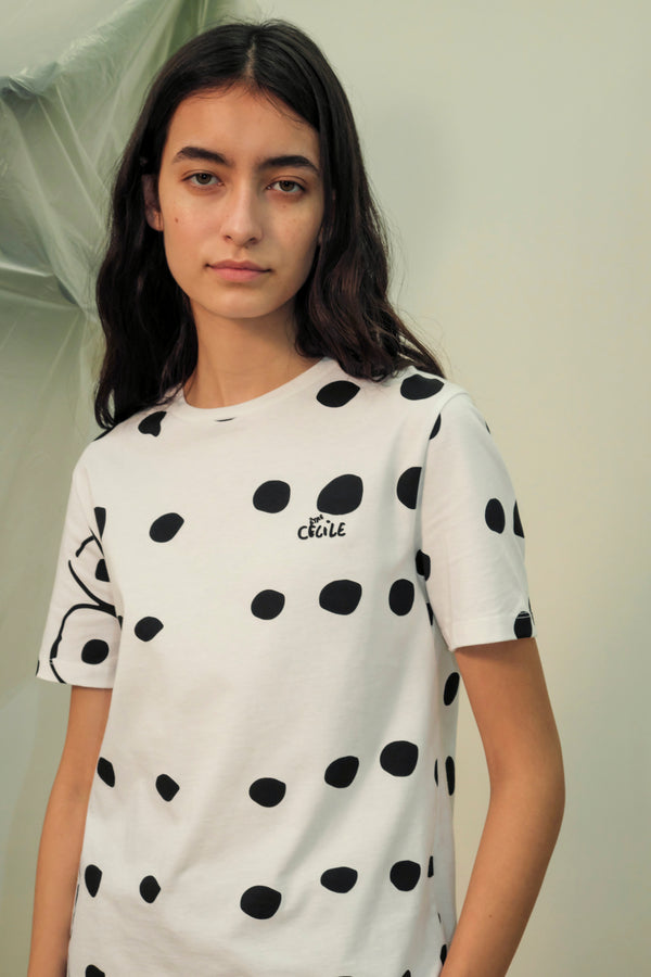 Cecile Dots Classic T-shirt