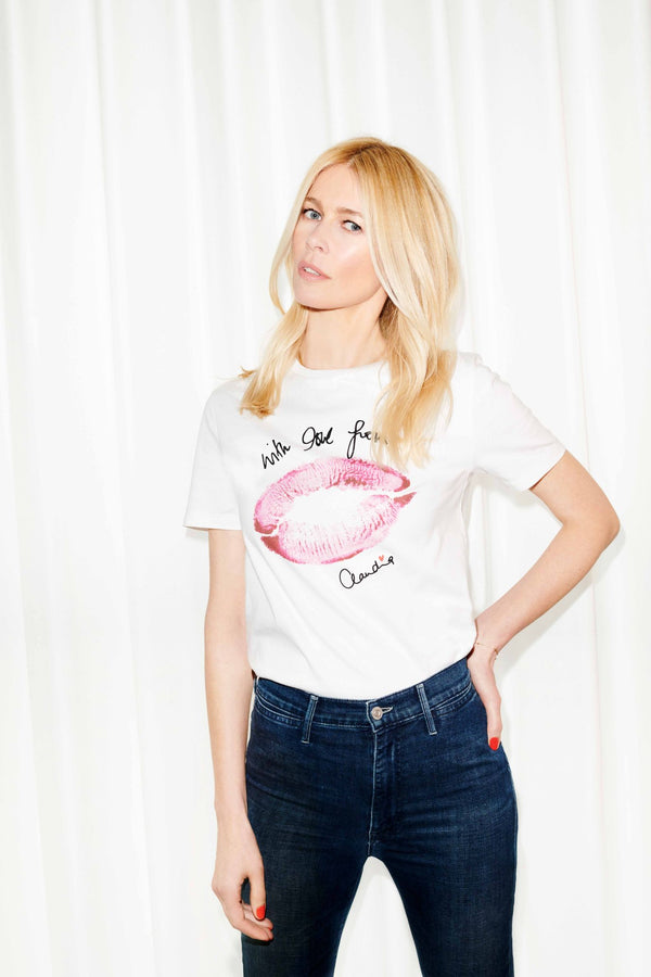Claudia Schiffer With Love T-shirt