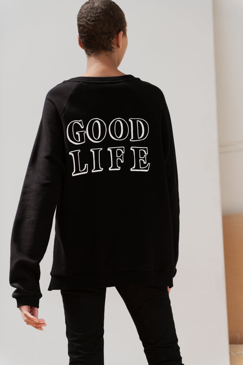 Good Life Raglan Sweatshirt