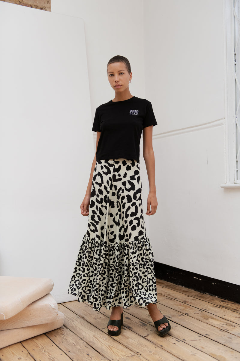 Cheetah Ivy Skirt