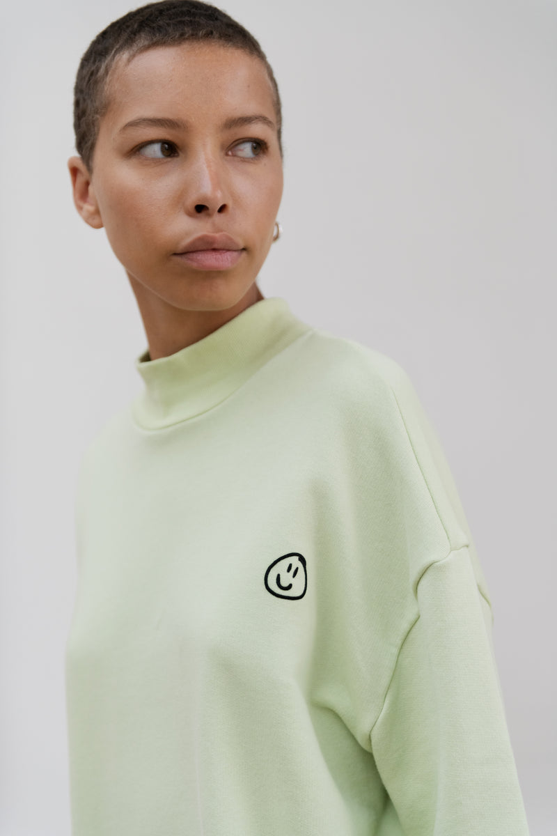 Smiley Face Baggy Sweatshirt