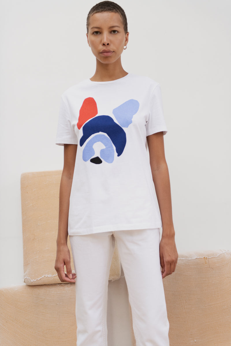 Dog Colourblock T-shirt