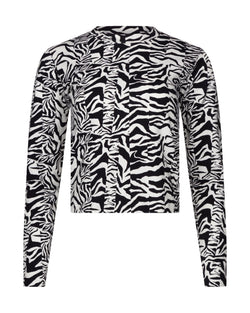 Zebra Inez Long Sleeve T-Shirt