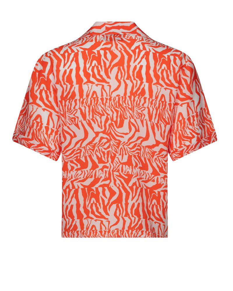 Zebra Maude Hawaiian Shirt