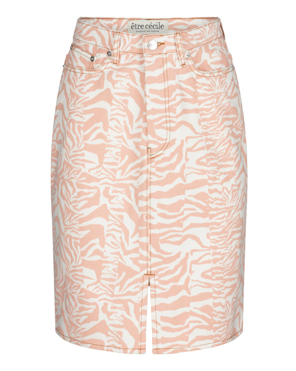 Zebra Harriett Denim Skirt