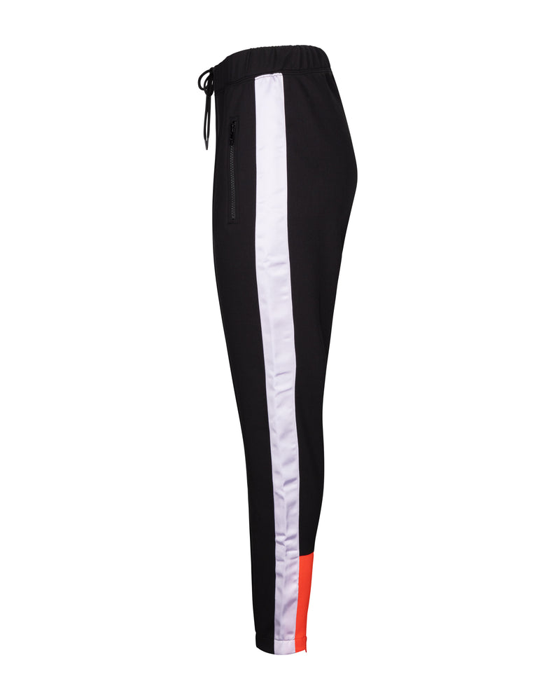 Stripe Blaise Crop Track Pants