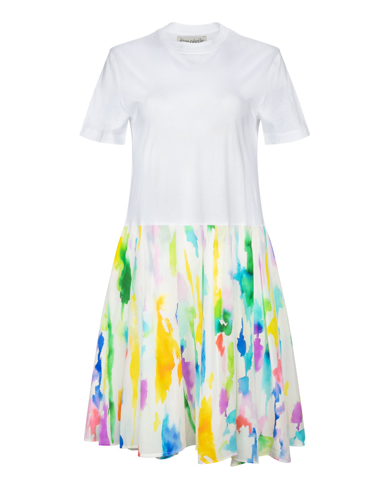 Paint Print Sadie Dress